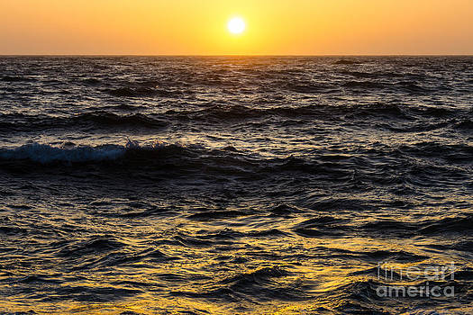Pacific Reflection by CML Brown