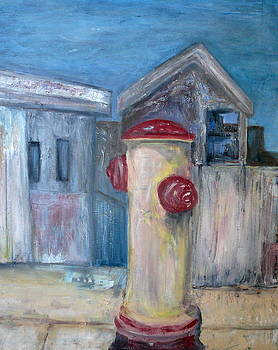 Pacifica Hydrant by Marge Healy