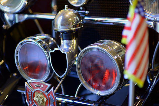 Packard 223 TWO SEATER ROADSTER FIRE CHIEF  by Eric Keesen