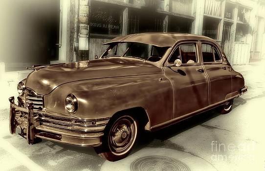 Packard Clipper Vintage Automobile by Henry Kowalski