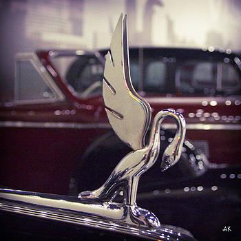 Packard Hood Ornament by Andrea Kelley