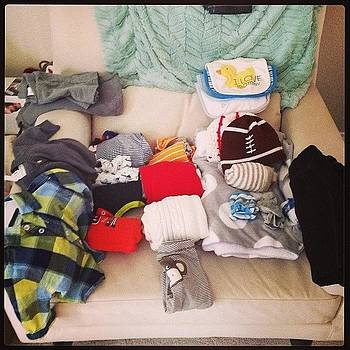 Packing For #babysfirstflight! #catony by Chelsea Daus