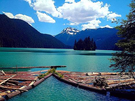 Packwood Lake by Whitney Nanamkin
