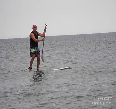 Paddle Boarder by Lisa Gifford