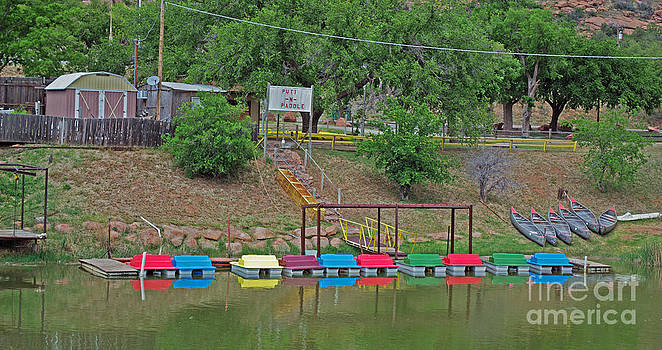 Paddle Boats by Derry Murphy
