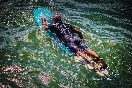 Paddle Out by Deborah Hughes