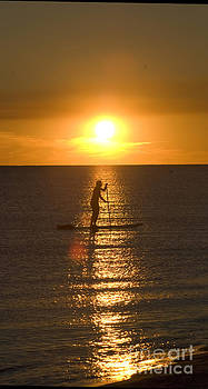 Paddleboarder by Jim Wright