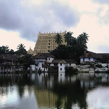 Padmanabhaswamy Temple In Trivandrum by Srivatsa Ray