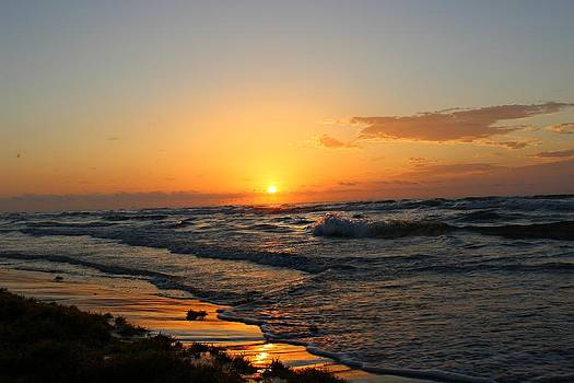 Padre Sunrise by Candice Trimble