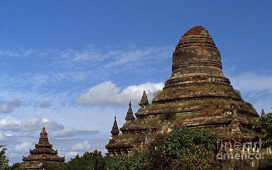 Pagan Burma Stupa by Scott Shaw