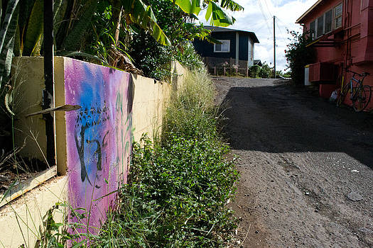 Paia Alleyway by Matt Radcliffe