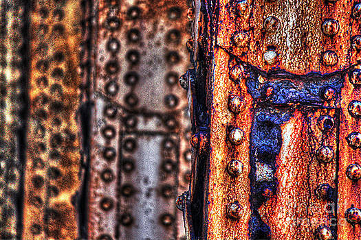Paint and rust 29 by Jim Wright