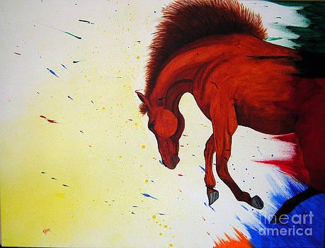 Kami Catherman - Paint Horse