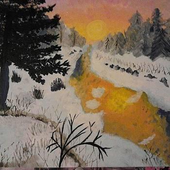 #paint #painting #landscape by Laura Vaillancourt