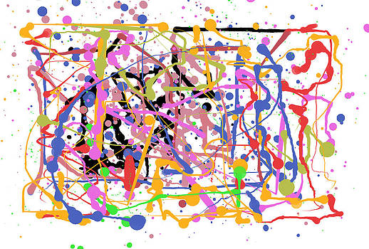 Paint Splatter by Ricardo  De Almeida