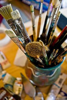 Paintbrushes by Jesska Hoff