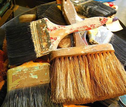 Paintbrushes by Mamie Gunning