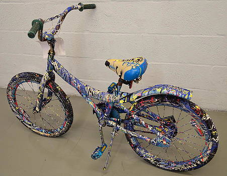 Painted Bike by Greg Pitts