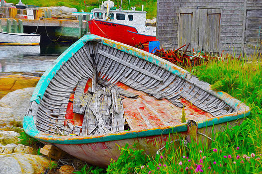 Painted Boats by Will Burlingham