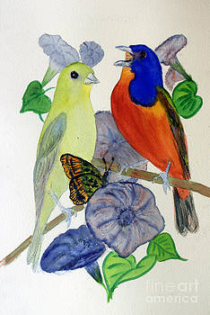 Donna Walsh - Painted Bunting