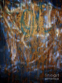 BERNARD JAUBERT - Painted door