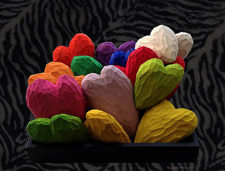 Painted Hearts by Leena Pekkalainen