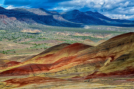 Painted Hills I by Robert Bynum
