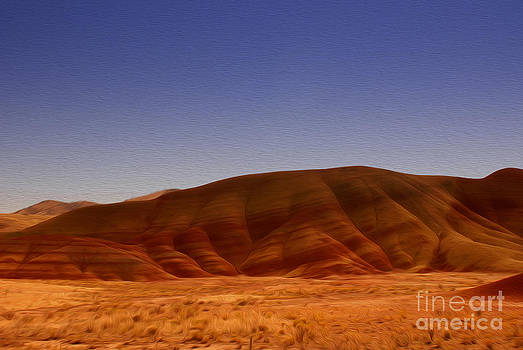 Painted Hills by Nur Roy