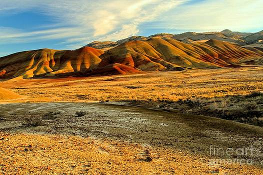 Adam Jewell - Painted Hills Sunset