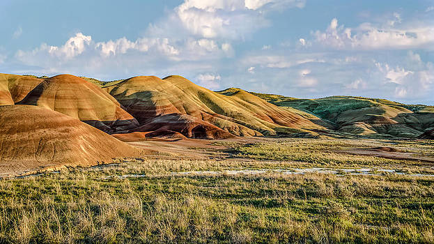 Painted Hills Sunset by Joe Hudspeth
