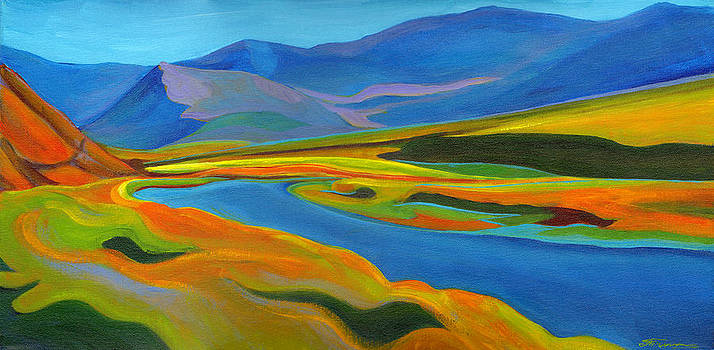 Painted Hills by Tanya Filichkin