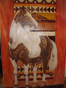 Painted Horse by Lorna Babcock