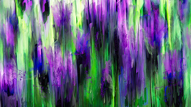 Painted Lavender by Joy Gerow