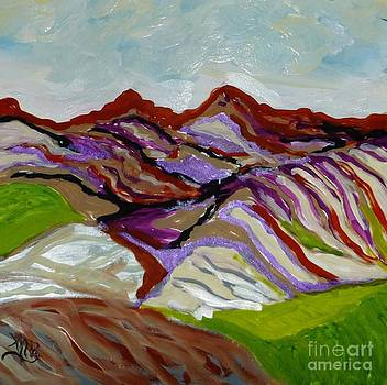 Painted Mountains by Marie Bulger