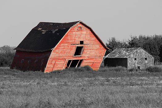 Painted Old Barn by Gerald Murray Photography