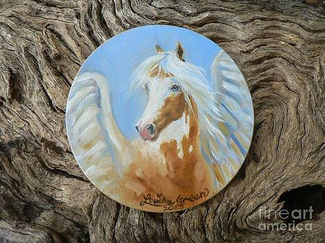 Painted Pegasus by Louise Green