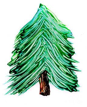 Simon Bratt Photography LRPS - Painted pine tree isolated