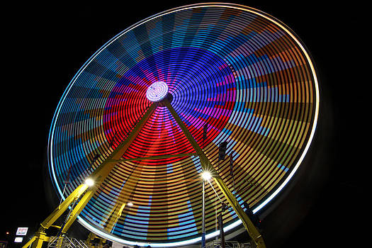 Painted Wheel by Gerald Murray Photography