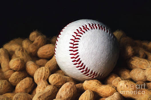 Andee Design - Painterly Baseball and Peanuts