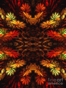 Andee Design - Painterly Fall Fractal Abstract