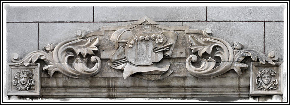 Pedro Cardona Llambias - An antique limestone stone work in Mahon - painter