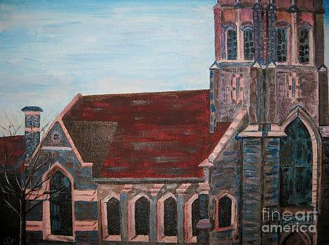 Judy Via-Wolff - Painting   Aenon