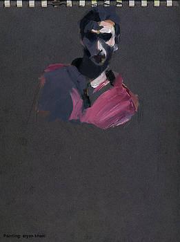 Painting by Aryan Khani