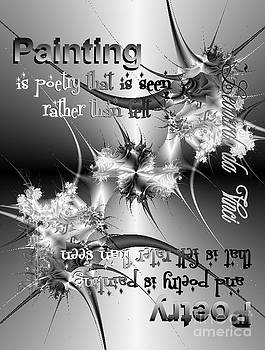Painting Is Poetry... by Dana Haynes