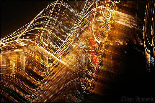 Painting MUSIC with Light 4U by Mirza Ajanovic