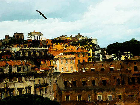Painting of Rome by Parvez Sayed