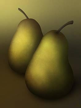 Pair of Pears by Daniel Sallee