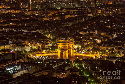 Pairs by Night-  Aerial View by Radu Razvan
