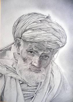 Pakistan Headman by Derrick Parsons