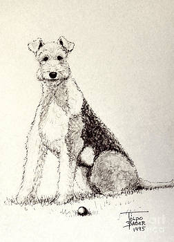 Art By - Ti   Tolpo Bader - Pal the Airedale